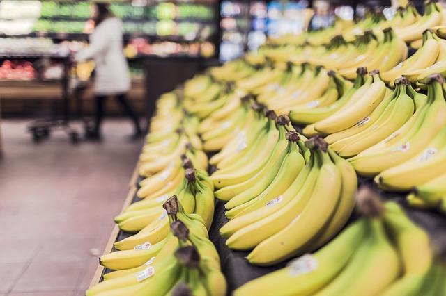 banany właściwości zdrowie dieta